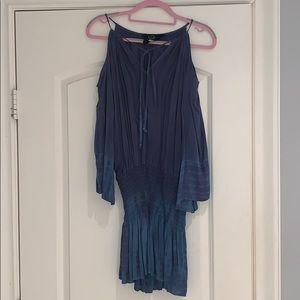 Planet Blue cold shoulder dress